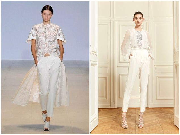 And The Bride Wore The Trousers Esfinge Pinterest Bridal