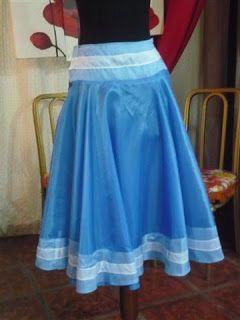 569f3dd24 Pollera   Proyectos a intentar   Disfraz de dama antigua, Vestidos y ...
