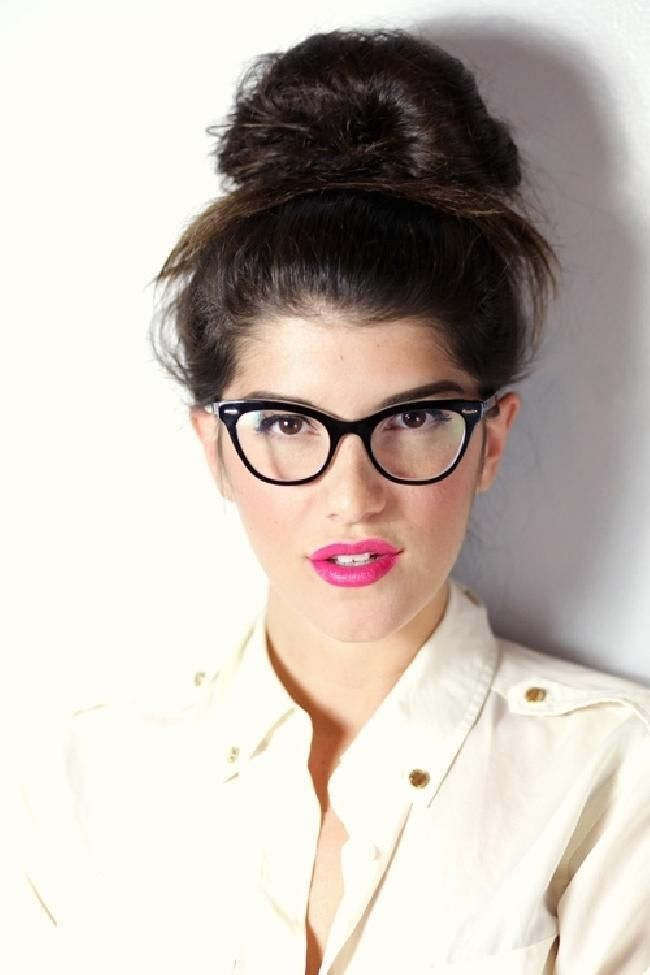 c96875d7a5 maquillaje con gafas 6 | Maquillaje en 2019 | Maquillaje con gafas ...