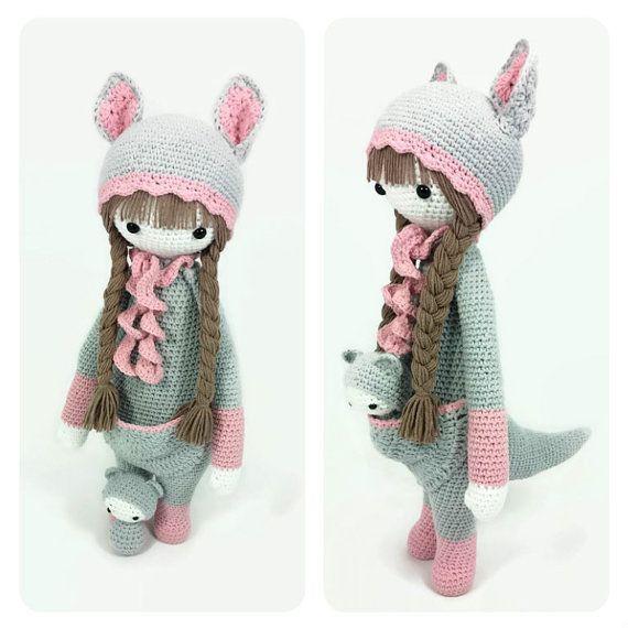 LUPO the lamb / sheep • lalylala crochet pattern / amigurumi ...   570x570