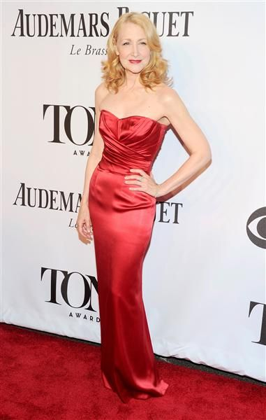 Patricia Clarkson arrives at the American Theatre Wing's 68th Annual Tony Awards at Radio City Music Hall in New York City on June 8, 2014.