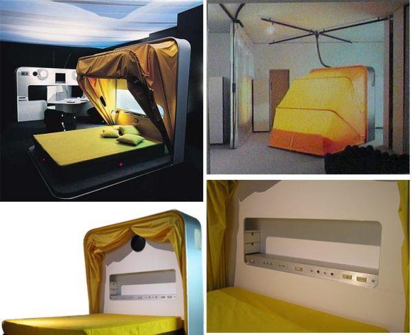 """Top 15 de las camas más inusuales y creativas: """"Cama convertible"""""""