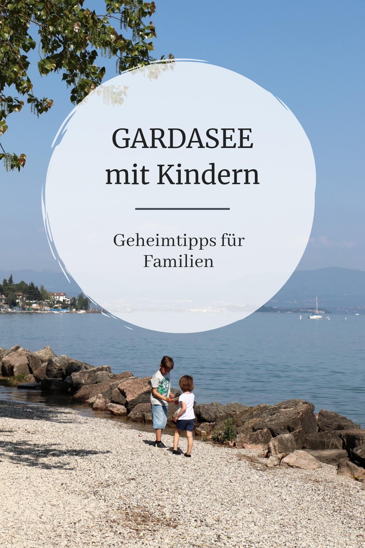 Lago de Garda con niños – consejos