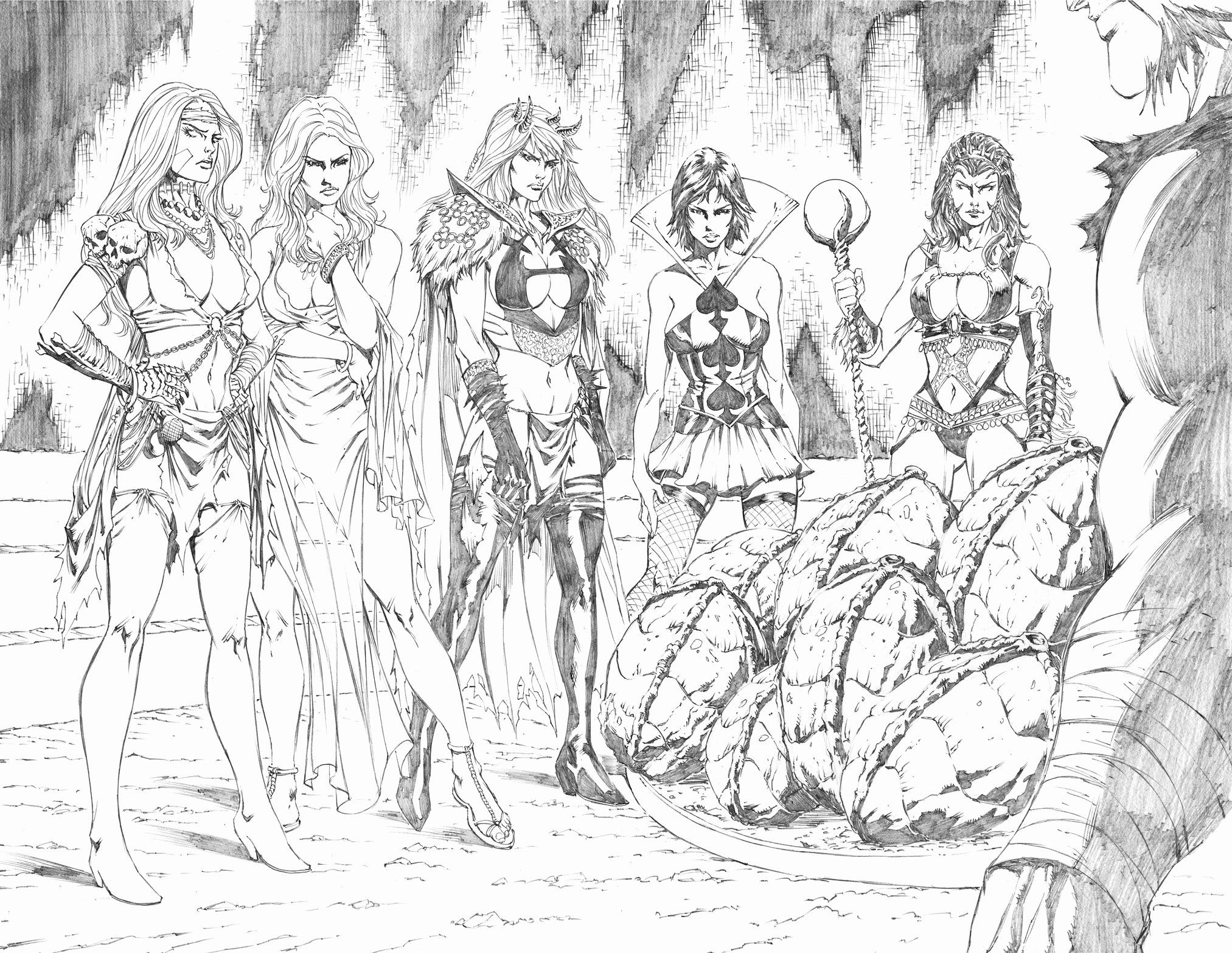 27 Grimm Fairy Tales Adult Coloring Book | Grimm fairy ...
