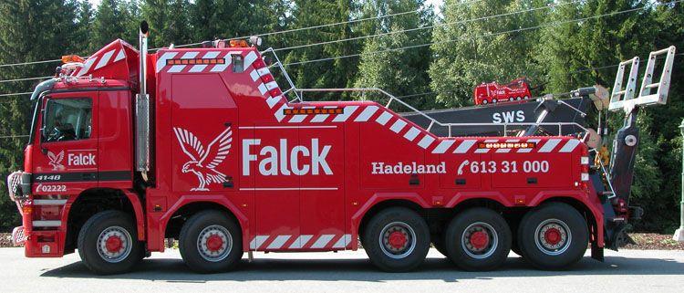Ditzj.de - Mercedes Actros 4148 - Falck Hadeland