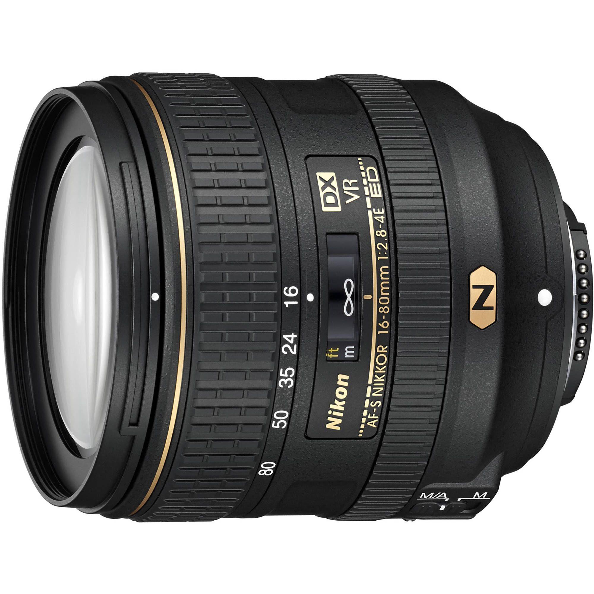 Nikon Af S Dx Nikkor 16 80mm F 2 8 4e Ed Vr Lens 20055 B H Photo Nikon Lenses Nikon Digital Slr Nikon Dslr Camera