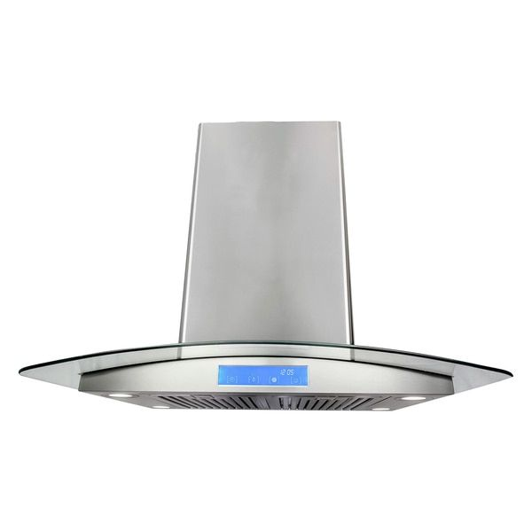Cosmo 30 In Ducted Wall Mount Range Hood In Stainless Steel With Led Lighting And Permanent Filters Wall Mount Range Hood Range Hood Kitchen Decor Modern