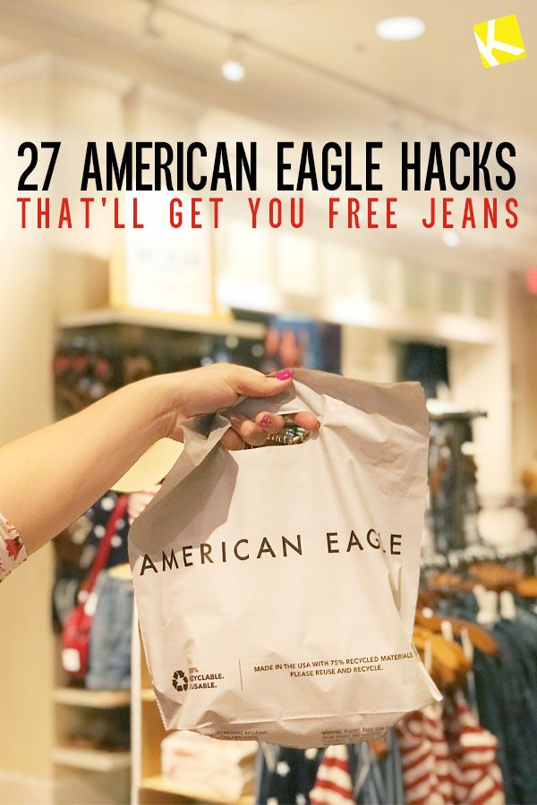 27 American Eagle Hacks That'll Get You Free Jeans - The Krazy Coupon Lady