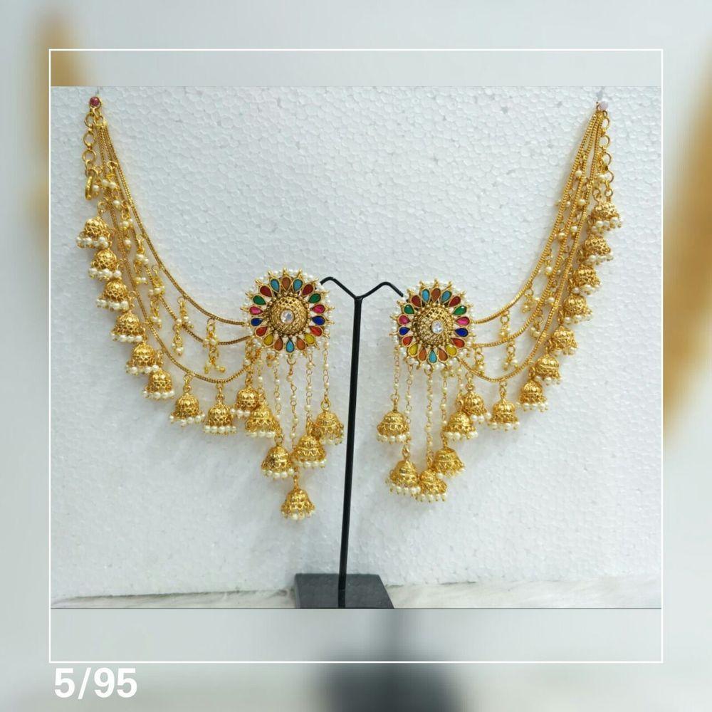4103c78d5 Indian Bridal Earrings Gold Plated Jewelry Antique Bahubali Pearl Jhumka  Jhumki #VGJewel #DropDangle
