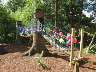 Children Playground Play Corner Integrated Into Nature Kids Playground Kids Outdoor Play Outdoor Kids