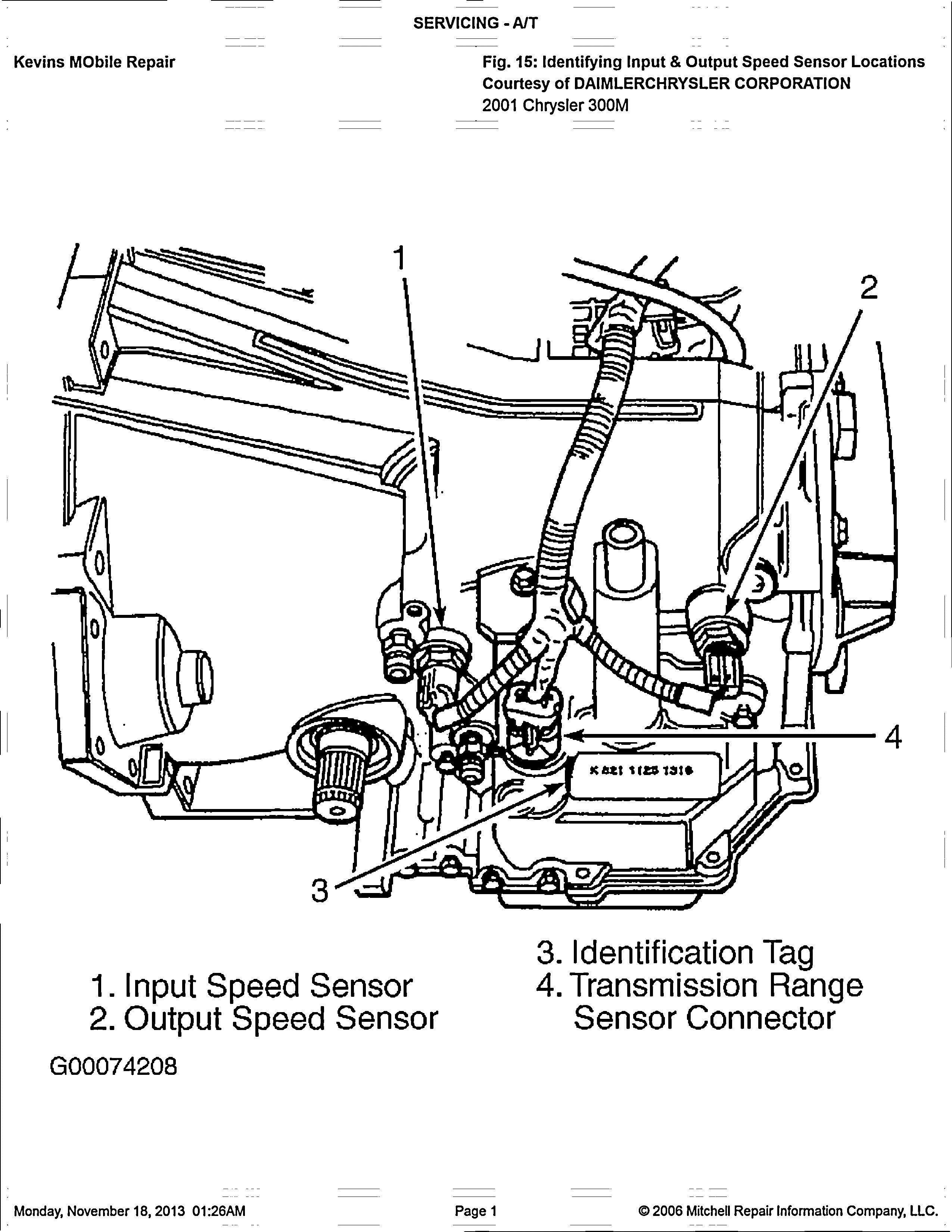 2000 Chrysler 300m Engine Diagram Di 2020