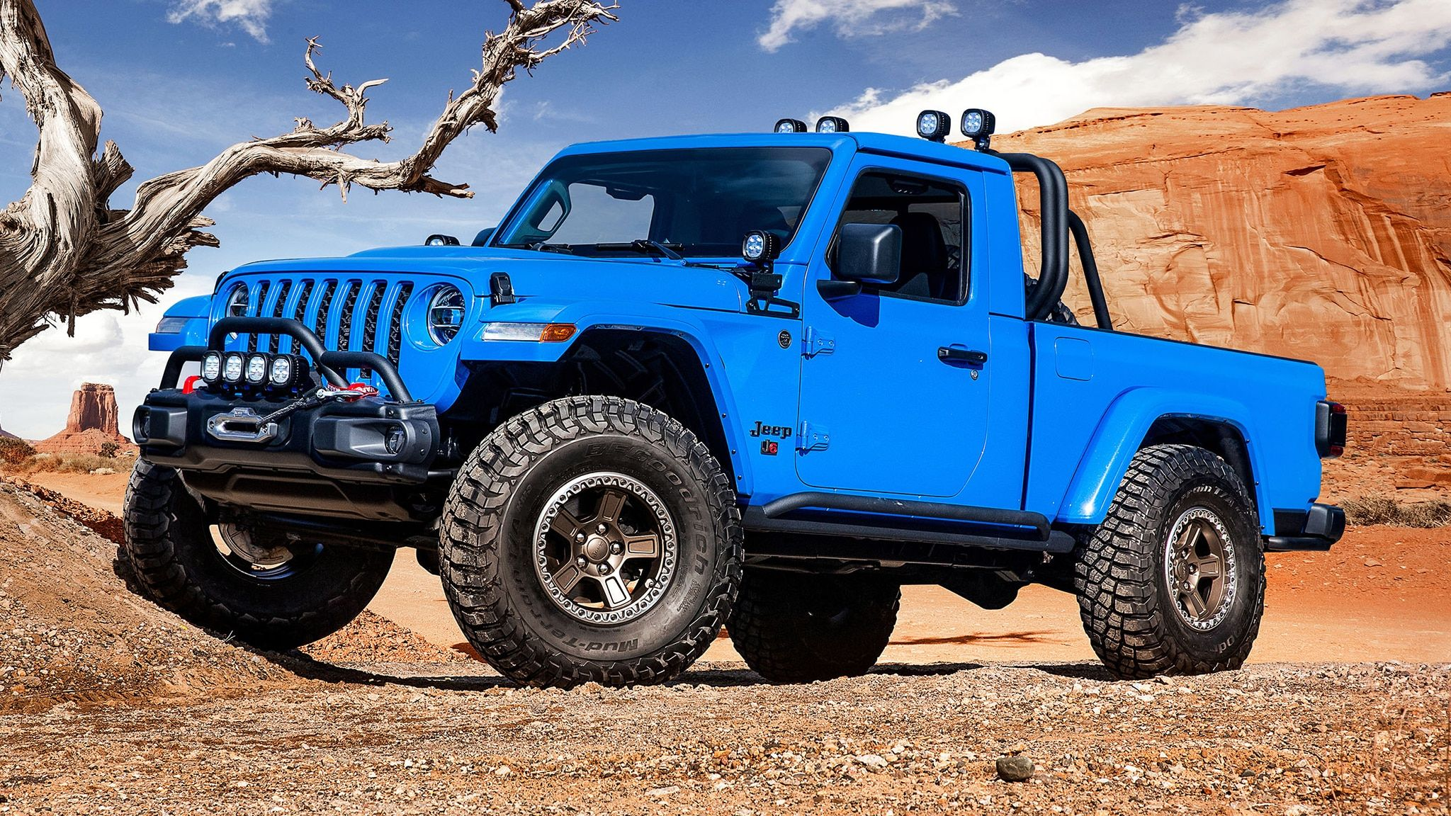 Jeep J6 Is A Two Door Gladiator With Normal Cab Jeep