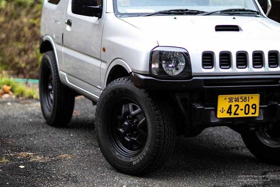 Jb23 レストア14回目 Recaro シートのその後と 冬タイヤの入れ替え Kouichi Teragishi Com ジムニー Jb23 ジムニー タイヤ