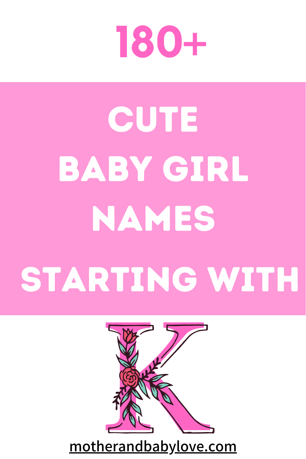 The Cutest Baby Girl Names Starting With K  Cute baby girl names