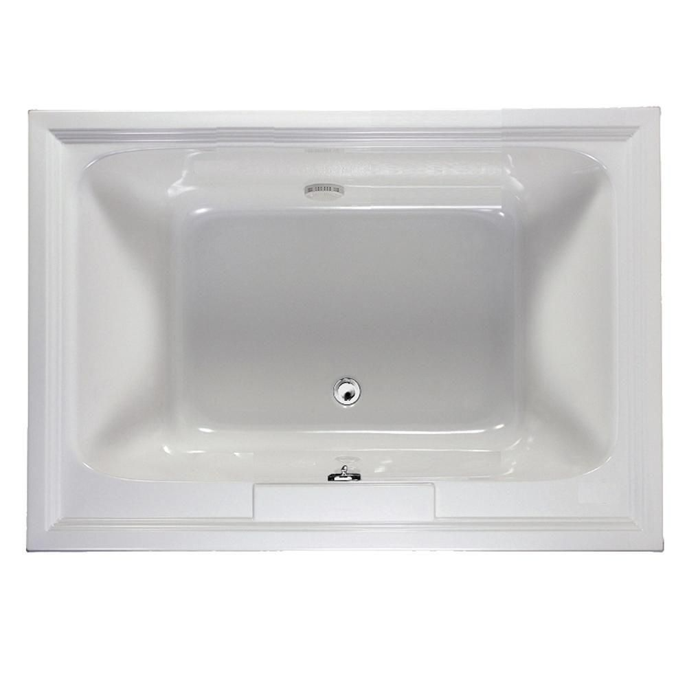 American Standard Town Square 5 Ft X 42 In Center Drain Soaking