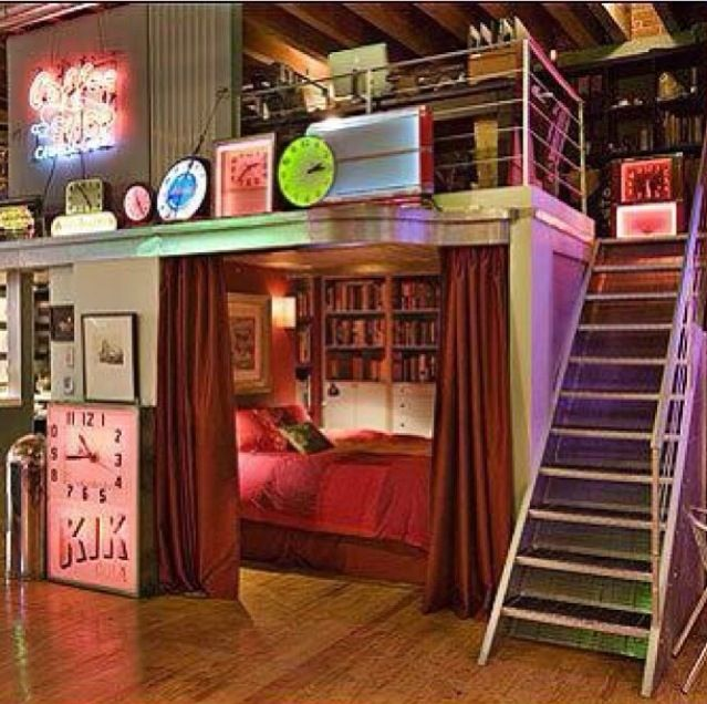 I Want This Room Sooo Bad Coole Schlafzimmer Ideen Coole Raume Coole Betten