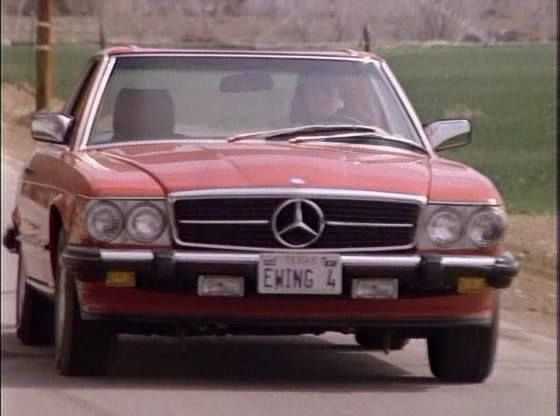 Dallas Pamela Ewing Mercedes Benz 560 SL