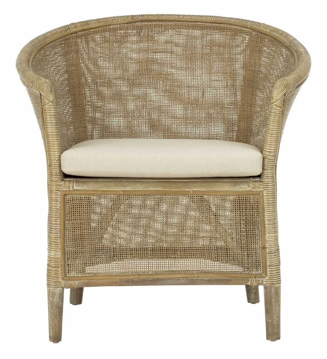 Mali Accent Chair With Images Rattan Armchair Linen Accent