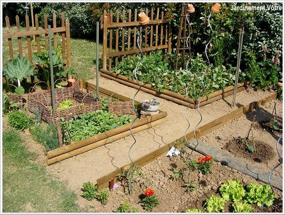 Mon cher petit POTAGER - Jardinement Vôtre | jardin potager ...