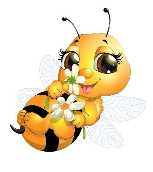 Telechargement Gratuit Eps File Cute Cartoon Abeille Bebe Vector 04 Nom Vecteur De Dessin Anime Mignon Abeille Bebe 04 So Cartoon Bee Bee Pictures Bee Images
