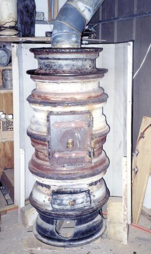 Farm Show Wood Burning Quot Wheel Rim Quot Stove Wood Heaters