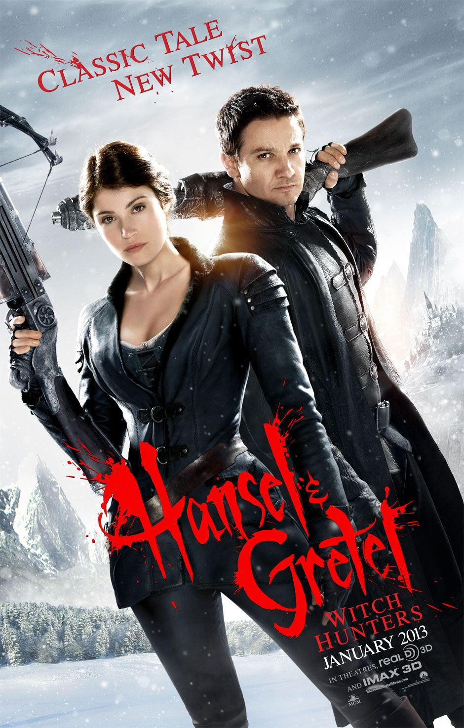 2012 Movie Poster | ... Movie Blah...: Hansel & Gretel: Witch Hunters (2013) - Movie Review