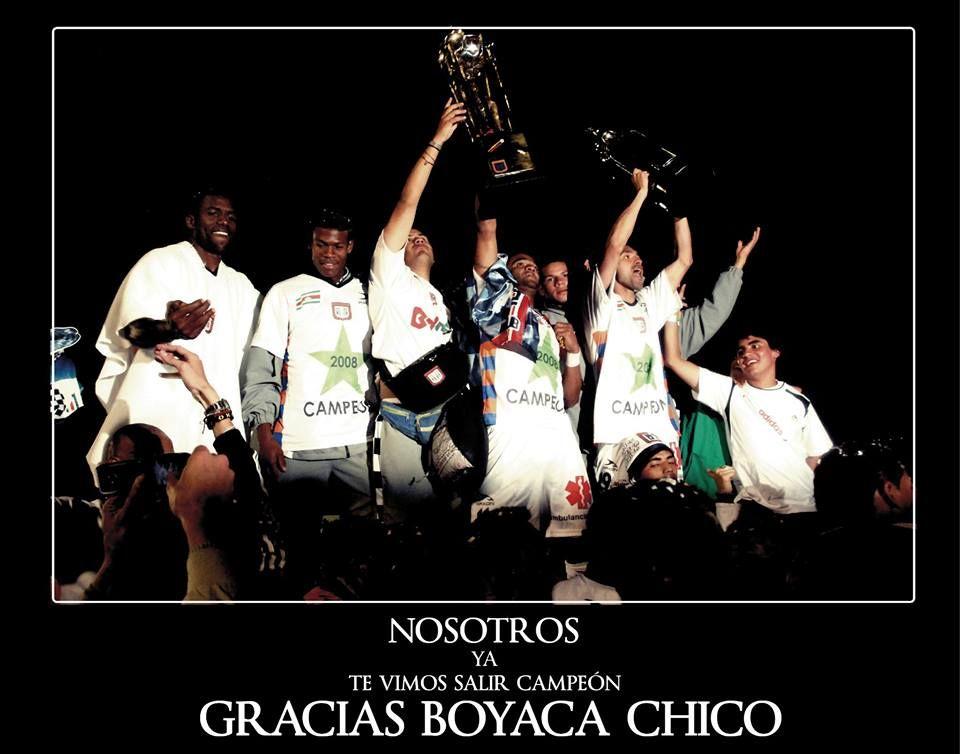 Boyaca Chico #yotevicampeon