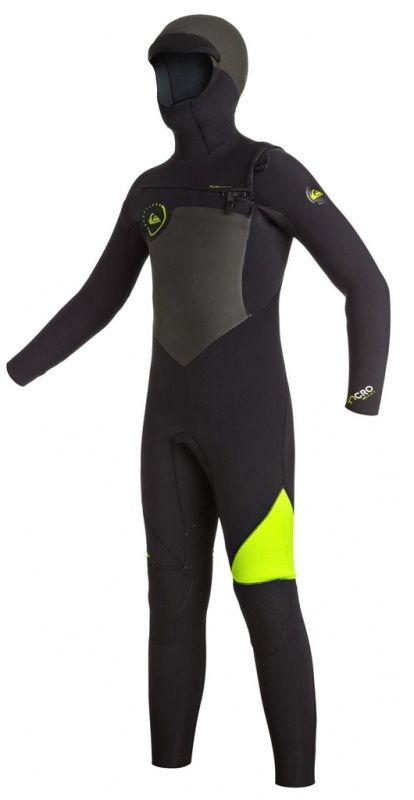 Quiksilver 3//2mm Syncro Plus Chest Zip Youth Boys Full Wetsuits