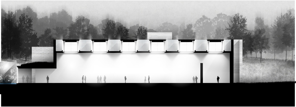 Glenstone Museum Drawings Thomas Phifer And Partners In 2020 New Zealand Houses Boulder House Long Island House