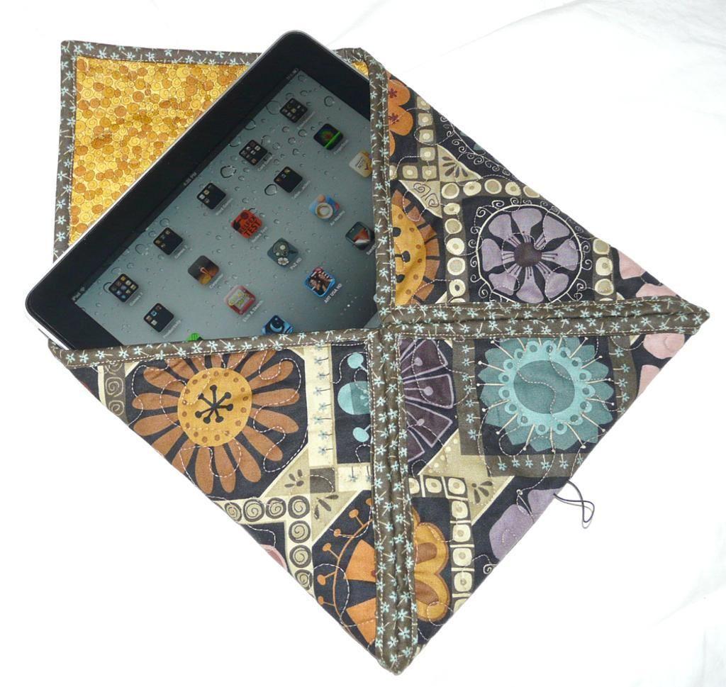 Envelope Style iPad Case #502 via Craftsy