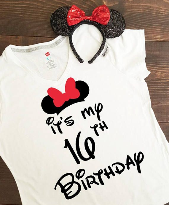 2d8cf6578 It's my birthday disney, disney birthday shirt, birthday disney shirt, minnie  mouse, mickey