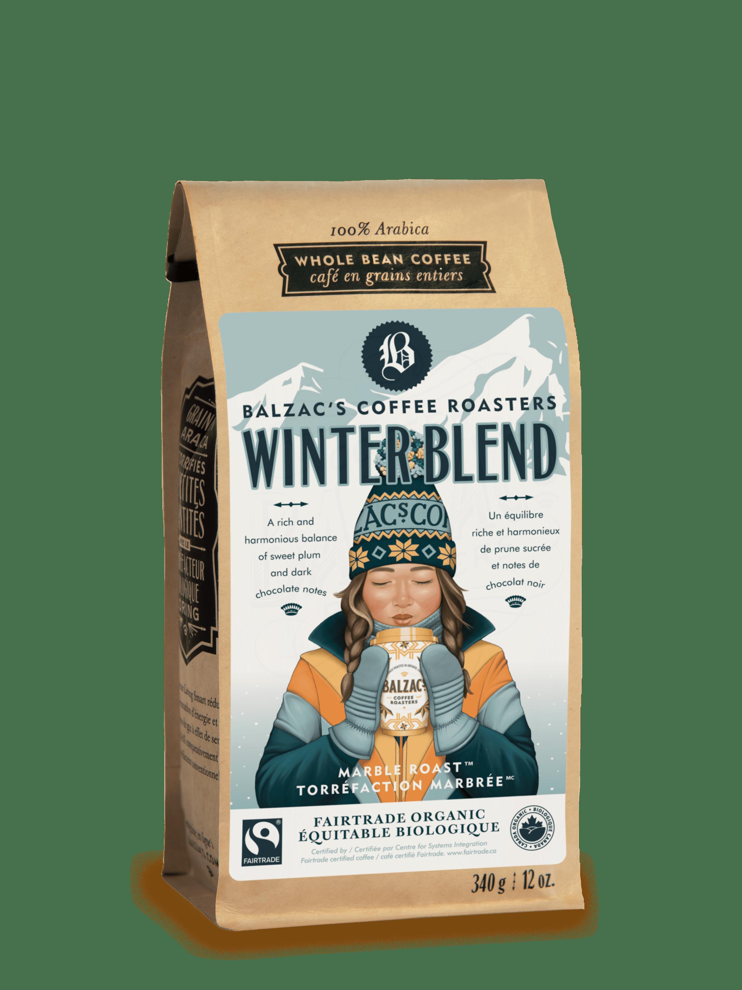 Winter Blend Coffee, Coffee roasters, Roaster