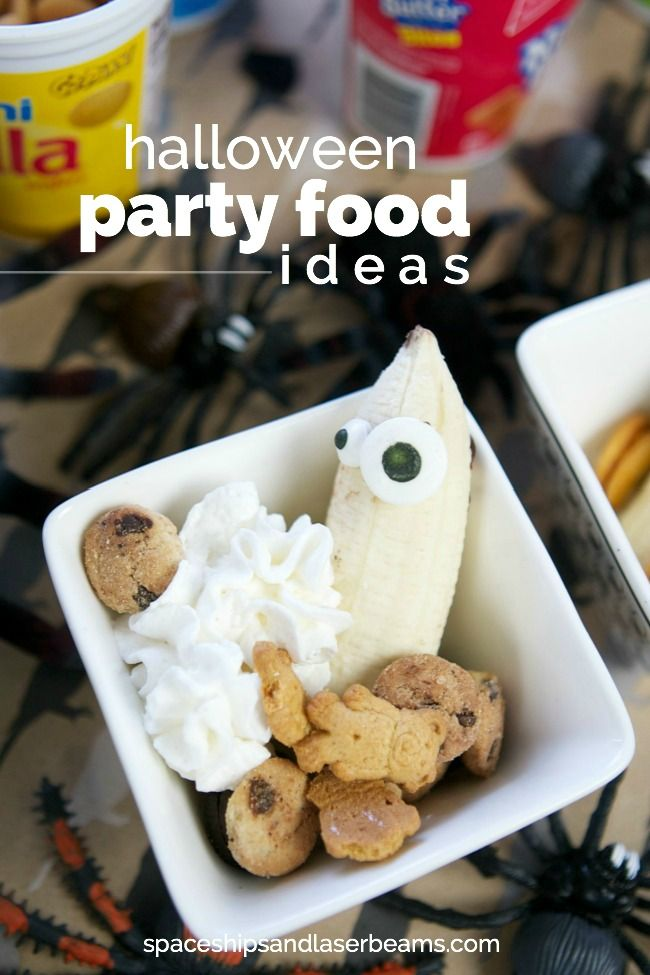 Fun Halloween Party Food Ideas #SnackAndGo Halloween parties, Food - spooky food ideas for halloween