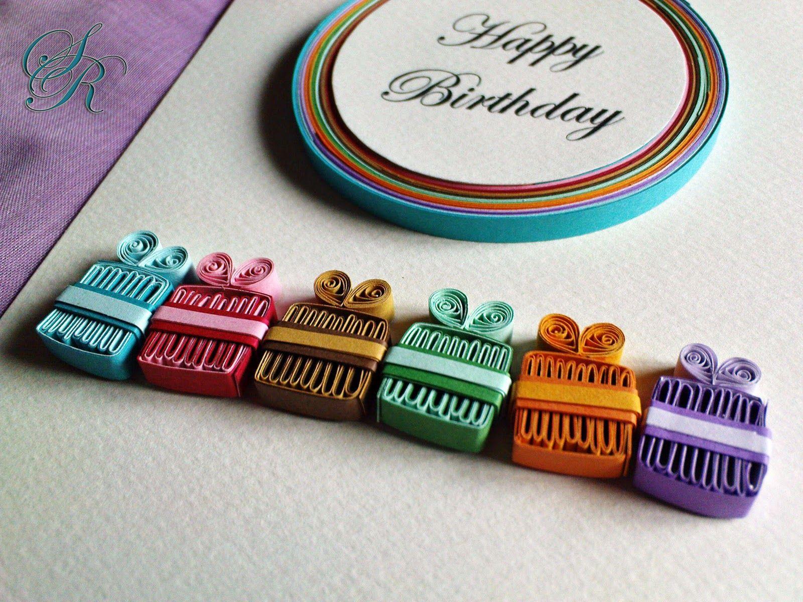 Картинки, открытки с днем рождения с квиллинга дедушке