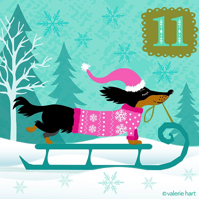 Advent Christmas Countdown ~ December 11th ValerieHart aa