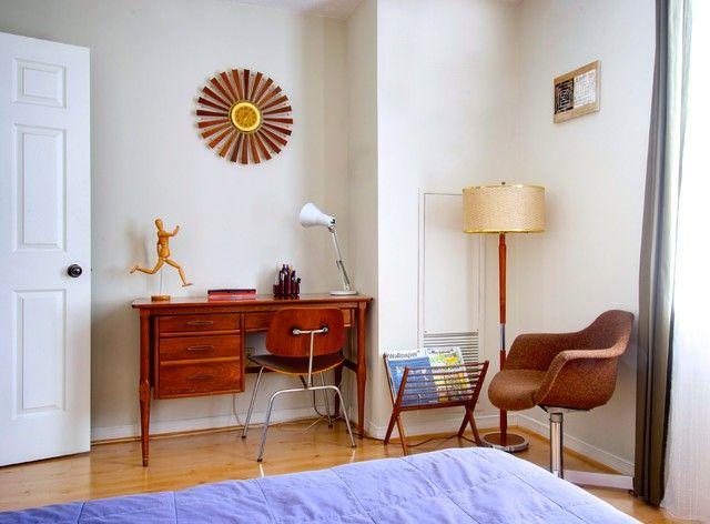 mid century modern home office the mid century modern home office