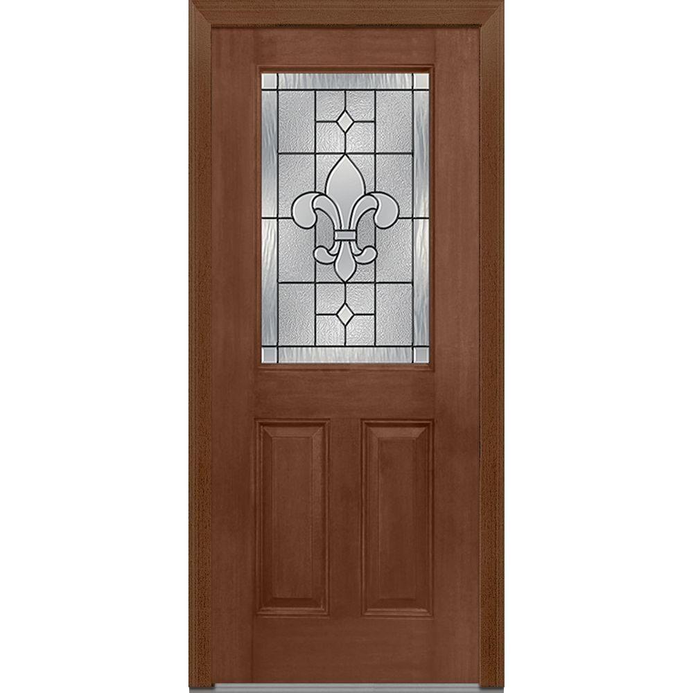 Mmi Door 32 In X 80 In Carrollton Right Hand Decorative 12 Lite 2