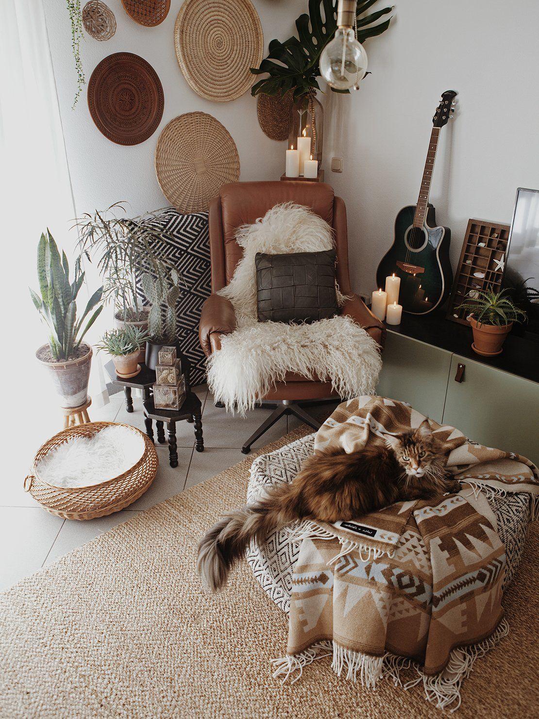 Beautiful Bohemian Home For The Home Pinterest Bohemian  # Meuble Boheme But