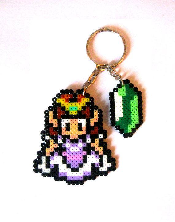 Sprites The Legend of Zelda. Llaveros broches por FreakCreations