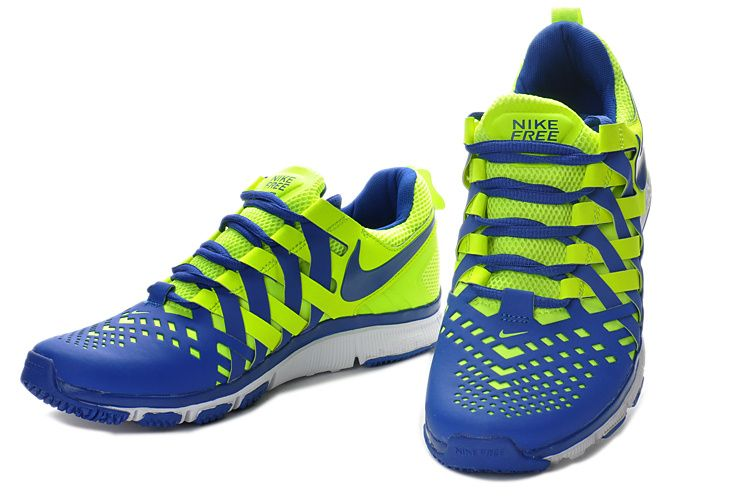 low cost 81f54 e8523 Nike  Free  Trainer 5.0 Woven Volt Hyper Blue 579809 700  shoe
