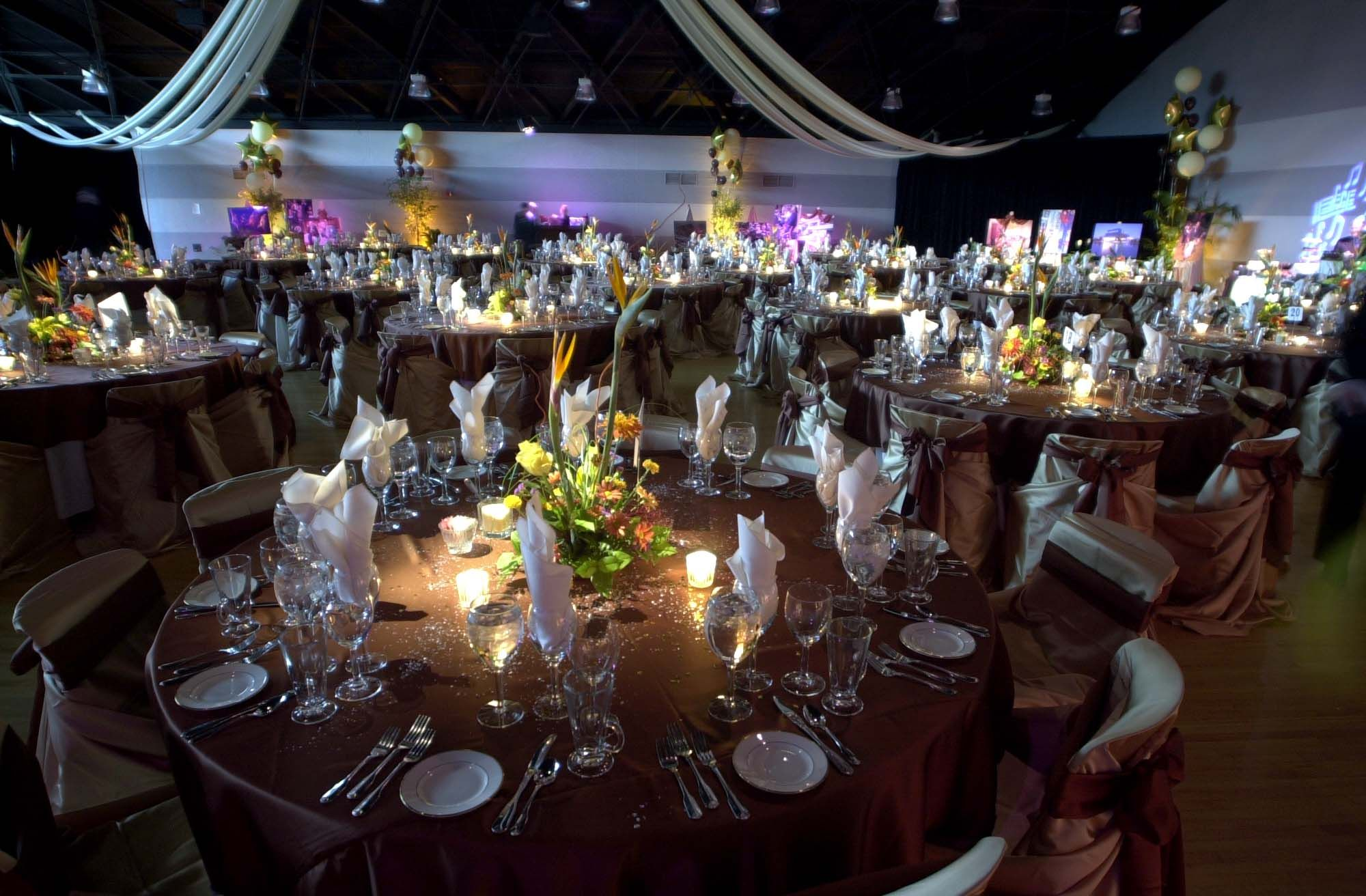 Wedding table set-up idea from wedding at the Hubbard Ballroom, Ford Community & Performing Arts Center, Dearborn, MI!