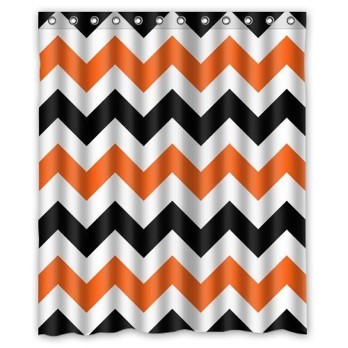 orange chevron shower curtain. Best Orange Chevron Shower Curtain  Orangechevronshowercurtainglam Chevron