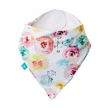 The Honest Company Bandana Bib | Rose Blossom