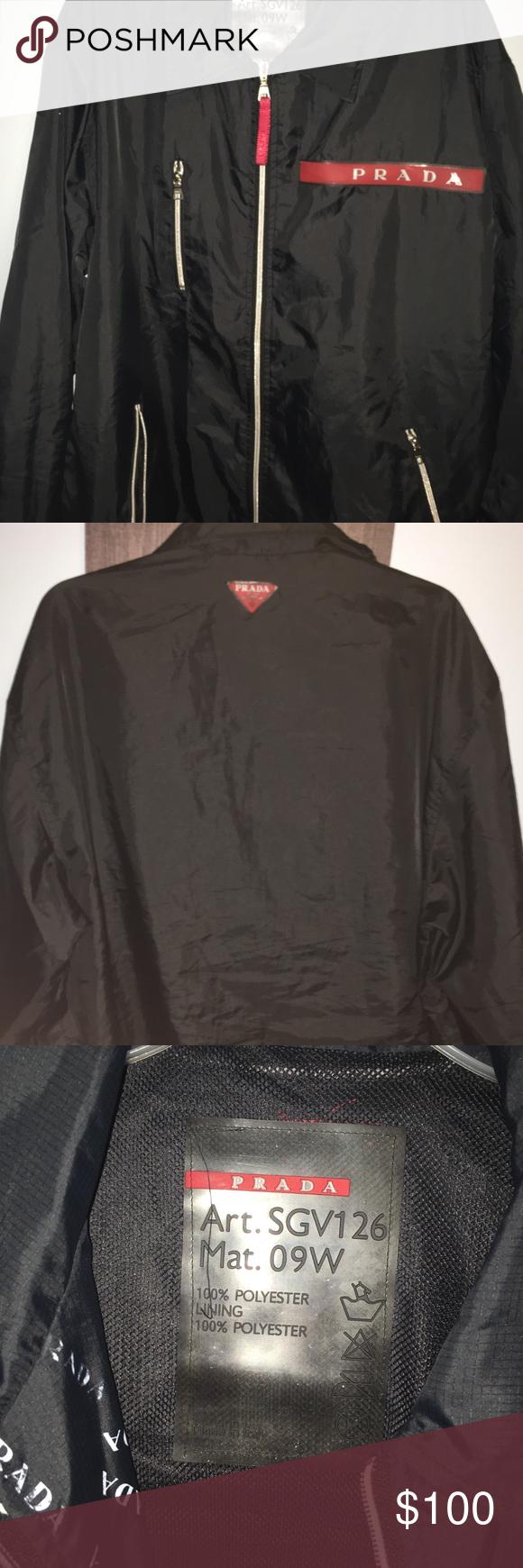 Vintage Prada Jacket Prada Jacket Prada Jackets [ 1740 x 580 Pixel ]