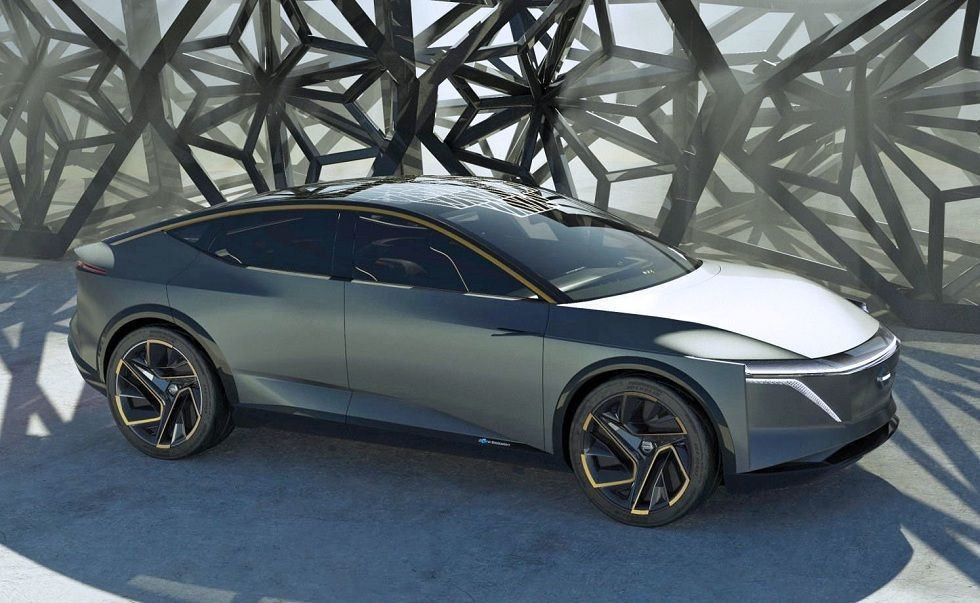 Nissan S Ims Concept Sedan Ev Future Prototype Electric Car