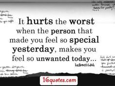 I feel unloved quotes