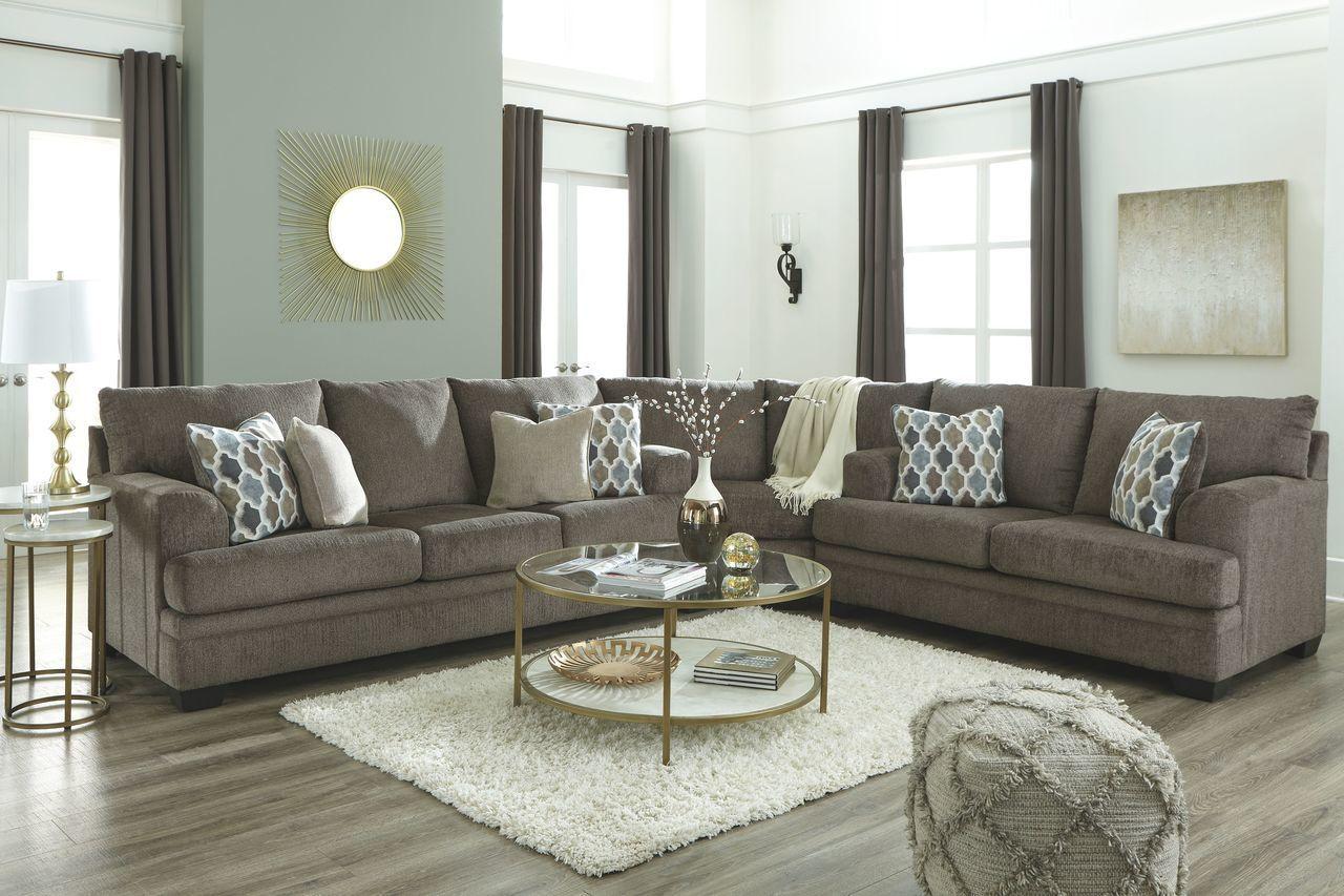 Ashley Dorsten Slate Sofa Couch Wedge Loveseat Sectional Furniture Small Living Room Design Living Room Sets