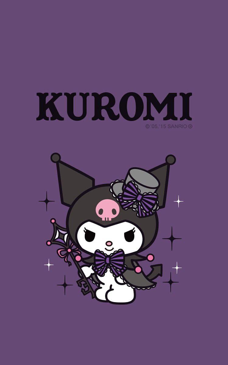 クロミ Kuromi ハローキティの壁紙 キティの壁紙 クロミ 壁紙