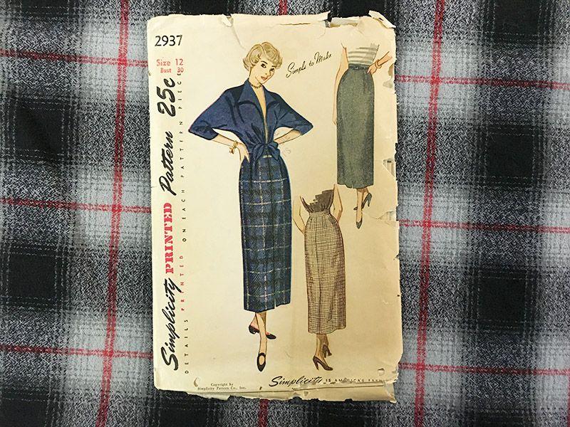Plaid flannel tie-front topper