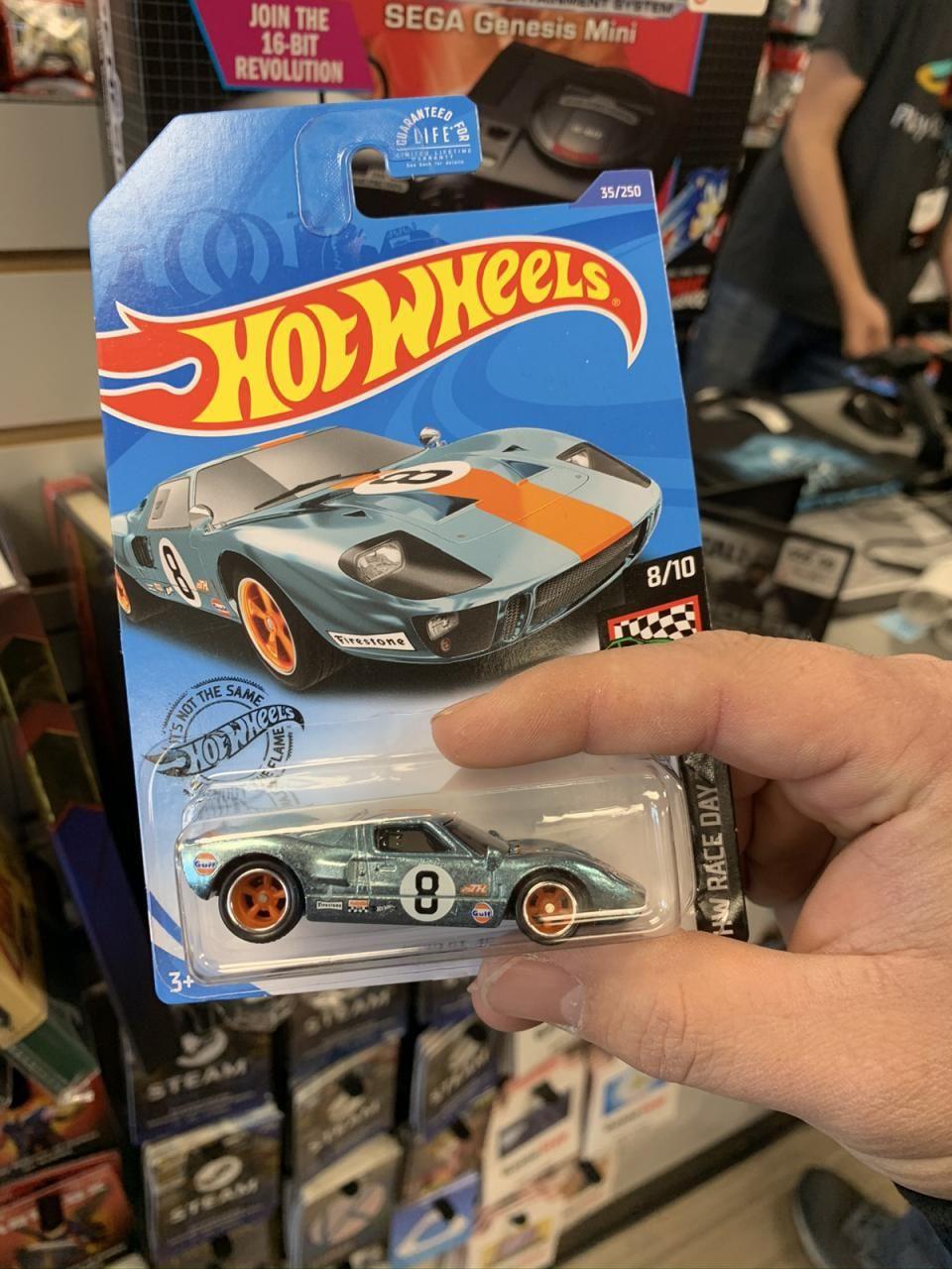 2020 Hot Wheels Rod Squad 68 Chevy Nova Gamestop Collector Day